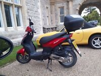 Sym Symply 50 (50cc moped)