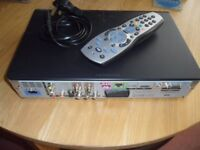 used but very good condition SKY+HD box with remote
