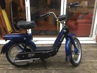 Piaggio Vespa Ciao Vintage Italian 49cc Moped Bicycle Uk Plated 1 y Mot
