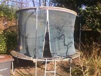 Free trampolene if you dismantle and take away