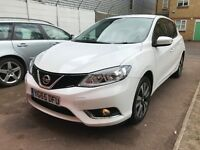 2015 (65 REG) NISSAN PULSAR N-TEC 1.2 MANUAL PETROL £30 ROAD TAX VERY ECONOMICAL