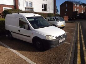 2002 Vauxhall Combo 1.7 DI good condition.