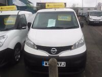 NISSAN NV 200 SE VAN 1.5DCI 2012/62REG 3 MONTH WARRANTY £3750 PLUS VAT