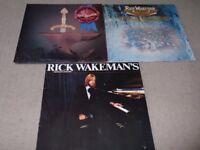 RICK WAKEMAN VINYL LP COLLECTION