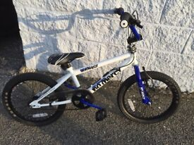 Boys blue rooster bike..good condition .fits for 6 to 9yrs