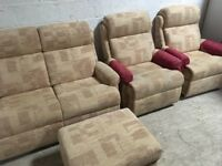 3 piece sofa - almost new!