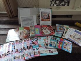 World of Cross Stitch Magazines, Cross Stitch Books and Additional Patterns