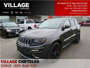 2016 Jeep Grand Cherokee SRT|NAV|DVDS|PANOSUROOF|TECH PKG