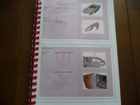 Ferrari Factory 599 GTB Body/Chassis Repair Manual