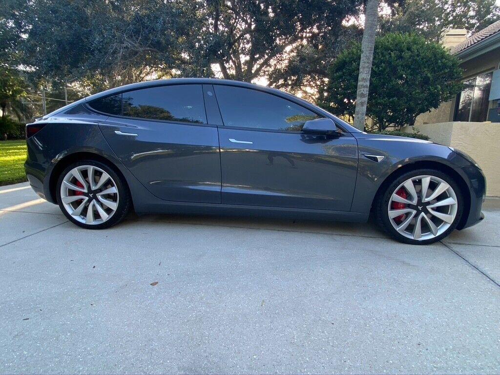 2019 Tesla Model 3 Performance Dual-motor Awd Midnight ...