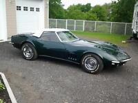 Corvette 1968 décapotable