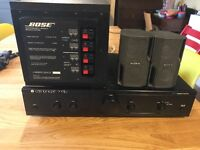 Cambridge audio / Bose / Sony set up