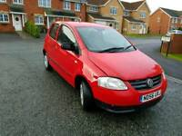 2007 56 vw fox 1.2 1 lady owner from new full vw service history full mot