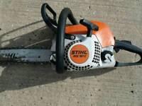 Sthil chainsaw 2016 model easystart ms181