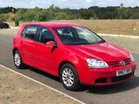 Volkswagen Golf 1.6 FSI Match 5dr 3 M Warranty, Service History, 1 Year MOT