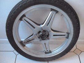 honda 250 superdream front wheel