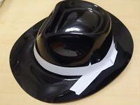 7 x Trilby Hats for Fancy Dress - New