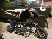 Mini motor bike midi