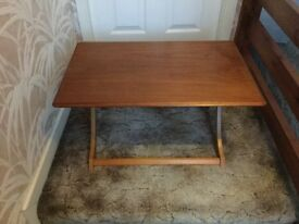 Myer low foldaway occasional table