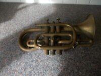 Vintage trumpet brass not working