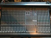 Soundcraft Ghost LE 24 Channel Mixing desk with Meterbridge, Power Supply, Patch Bays & Looms