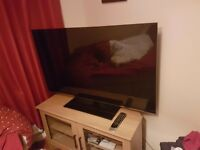 Toshiba 55inch lcd 3d tv with remote