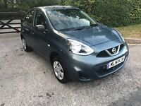 2014 NISSAN MICRA 1.2 VISIA PETROL LOW MILEAGE 15000 CAT C ONE YEAR MOT 2 OWNERS