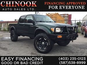 2004 Toyota Tacoma V6 TRD Double Cab, Lifted, Winch
