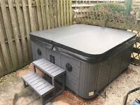 3 Seater, 2 Lounger, Large Hot Tub with lights and music. Cost over £4,000 new