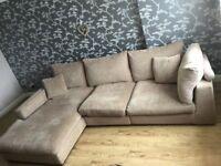Corner Sofa For Sale Excellent Condition Oatmeal colour £327
