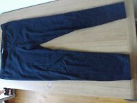 Debenhams Black Cropped Leggings Size 12