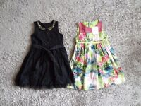 Girls dresses x 2