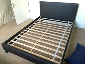 Double bed frame, nearly new