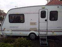 swift welland ventura 400 caravan 1998 two berth touring caravan