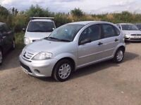 2007 CITREON C3 AUR CON CD UNMARKED BLCK CLOTH LOVELY CONDITION GOOD DRIVER IDEAL FIRST CAR PX WELCO