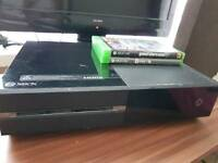 XBOX ONE. W/ ACCESSORIES, LIVE AND OVER 20 GAMES