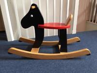 Infant rocking horse (dog)