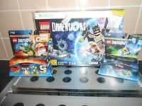 XBOX 360 LEGO DIMENSIONS BUNDLE - AS NEW