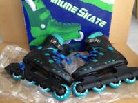 Inline roller boots/ blades size UK 4/5 Euro 38.
