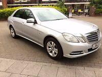 Mercedes E Class 2.1 E200 CDI BlueEFFICIENCY Plus 4dr (start/stop)£8,250 ovno 2012 (62 reg), Saloon