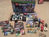 Lego Dimensions starter pack Microsoft Xbox One + 7 expansion packs - See Description