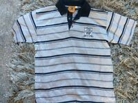 HULL CITY POLO SHIRT NEW CONDITION WORN THE ONCE