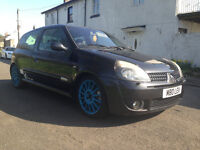 Renault Clio 172 RenaultSport 2003 **PREFER TO SWAP/PART EX FOR BIGGER DIESEL**