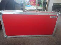 Swanflight pedalboard (flightpanel hardest material) red