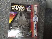 Star Wars R2D2 Collectors Watch with Millenium Falcon case new & sealed - but 1996 vintage