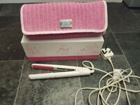Pink GHD's