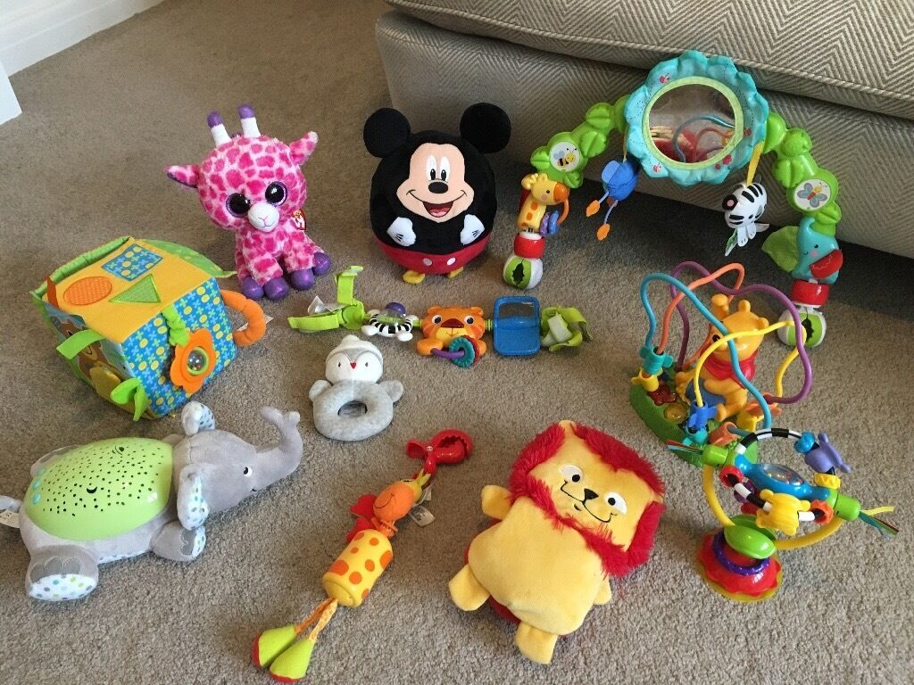 Selection Of Baby Toys Suitable From Birth In Moortown West