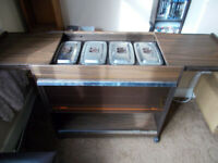 Phillips Hostess Trolley. Good Working Order