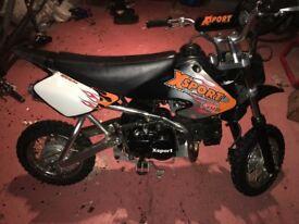 XSport 110cc Pit Pro Pit Bike
