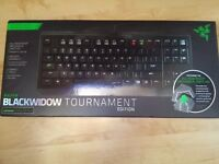 Razer blackwidow tournament keyboard